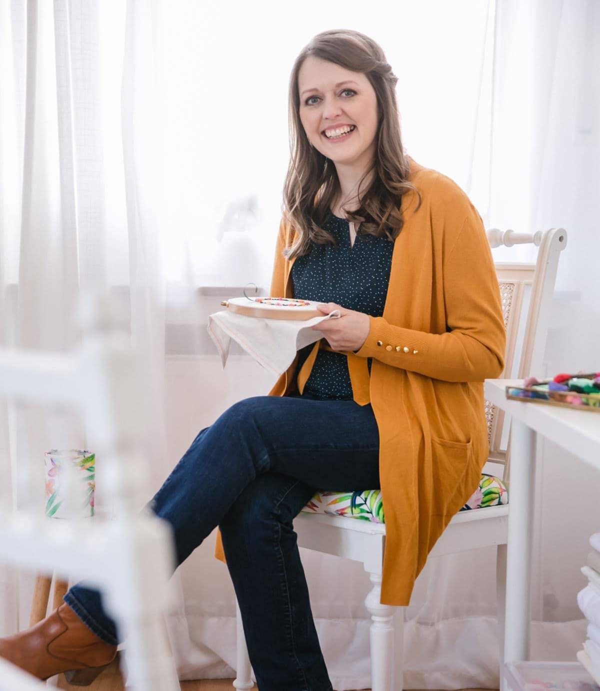 Sticken mit Nadine Villmann - Erfahrungen und Bewertungen