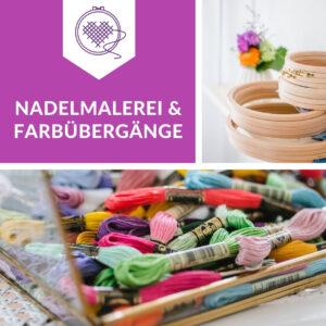 Sticken: Nadelmalerei lernen samt Farbübergängen